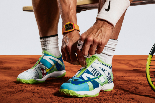 "Roland Garros 2019: NikeCourt Cage 3 Glove ""What The"" Rafa"