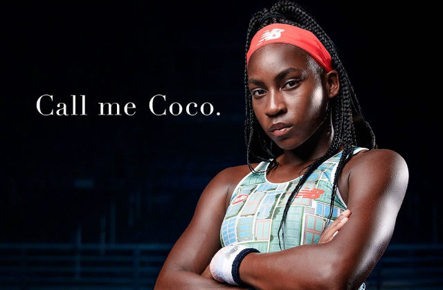 Coco Gauff 2019 US Open outfit