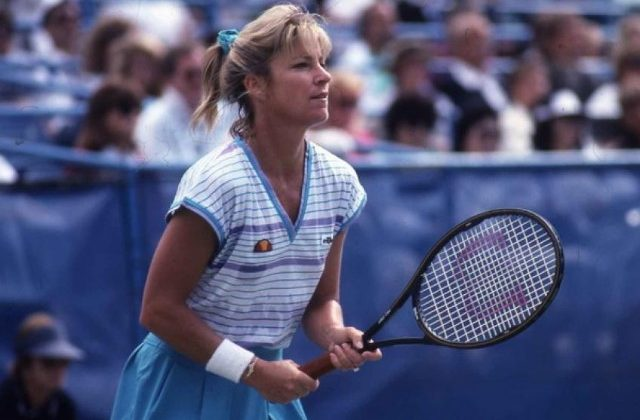 Chris Evert, 1989 US Open