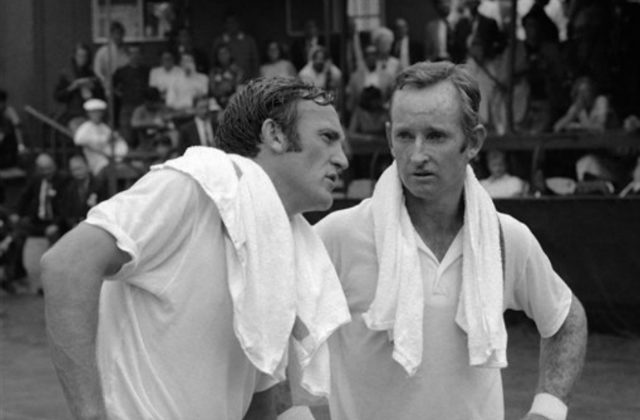 Tony Roche and Rod Laver, 1969 US Open